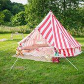 The Glam Camping.co ストロベリーアンドクリーム ベルテント